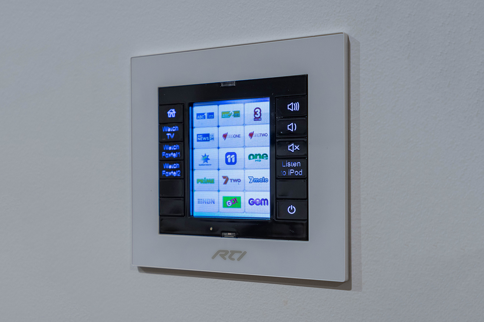 RTI wallplate