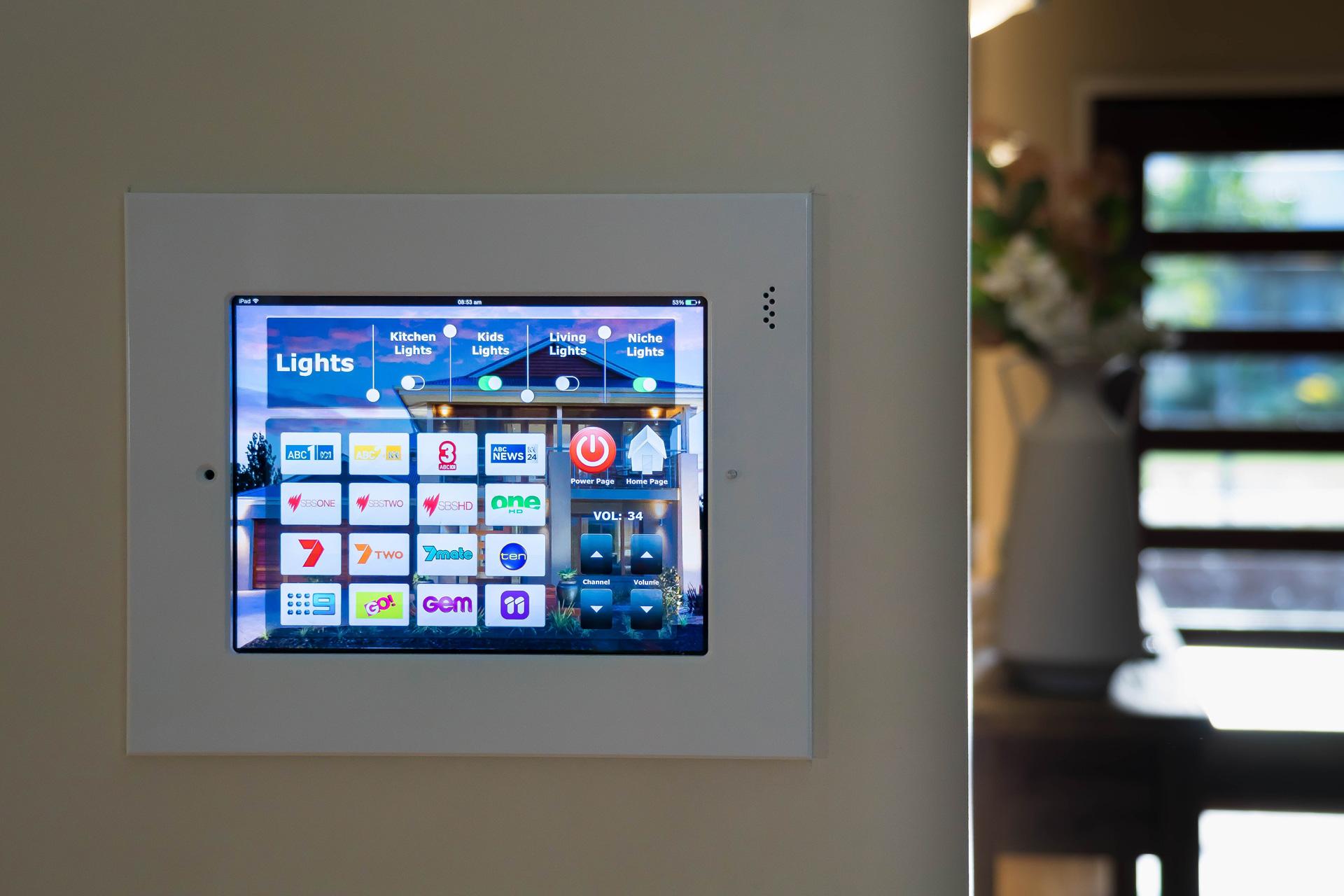 iPad home control