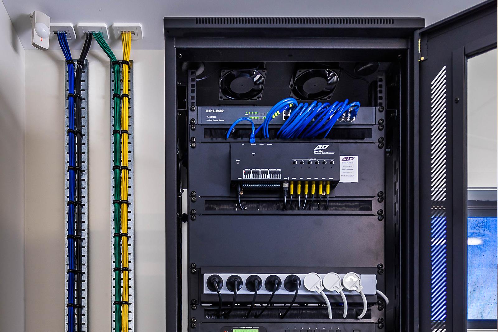 Central AV Rack